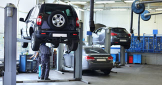 Motors for car-lift systems
